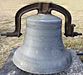 Church bell with yoke