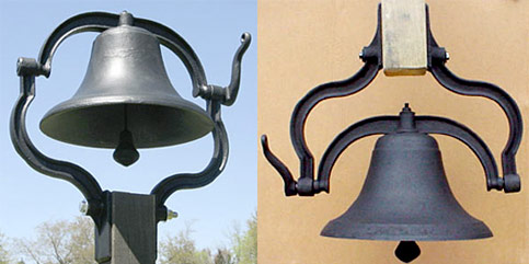 Cast Iron Post Bells