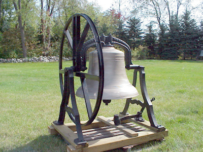 Restored Meneely Church Bell